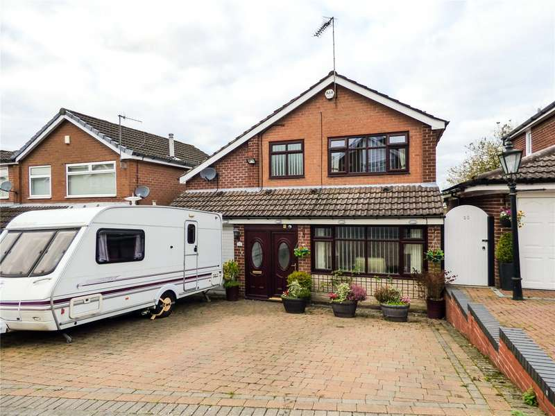 4 Bedrooms Detached House for sale in Fold Crescent, Carrbrook, Stalybridge, Greater Manchester, SK15