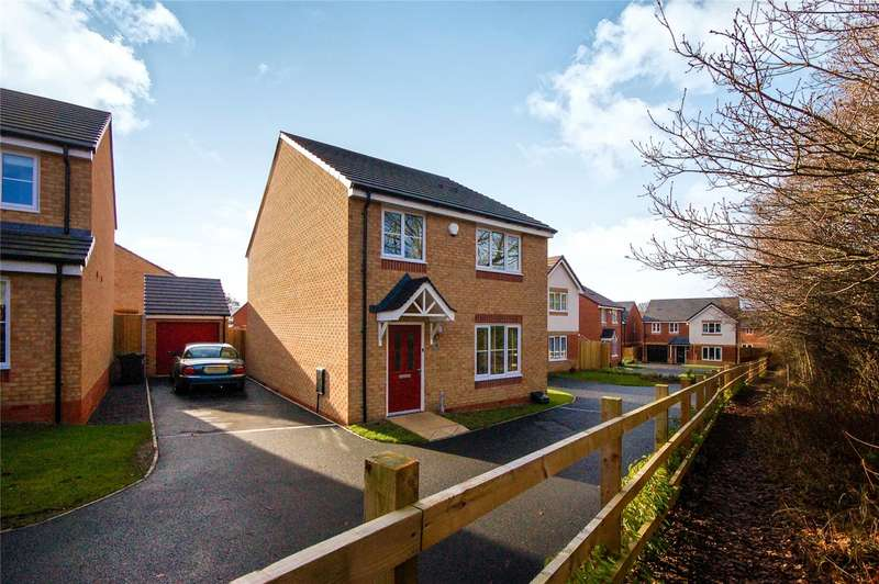 4 Bedrooms Detached House for sale in 4 Hitchens Way, Highley, Bridgnorth, Shropshire, WV16