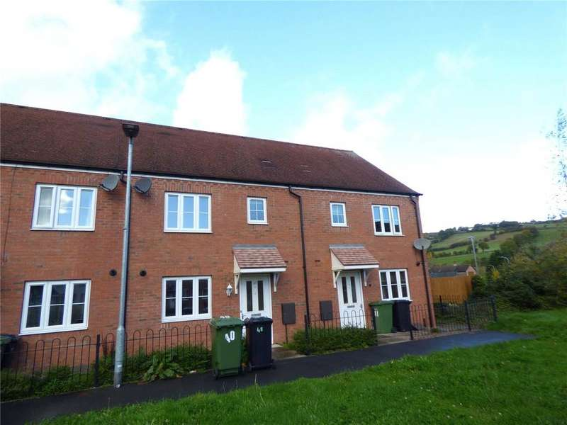 3 Bedrooms Terraced House for rent in Garden Close, Kington, Herefordshire