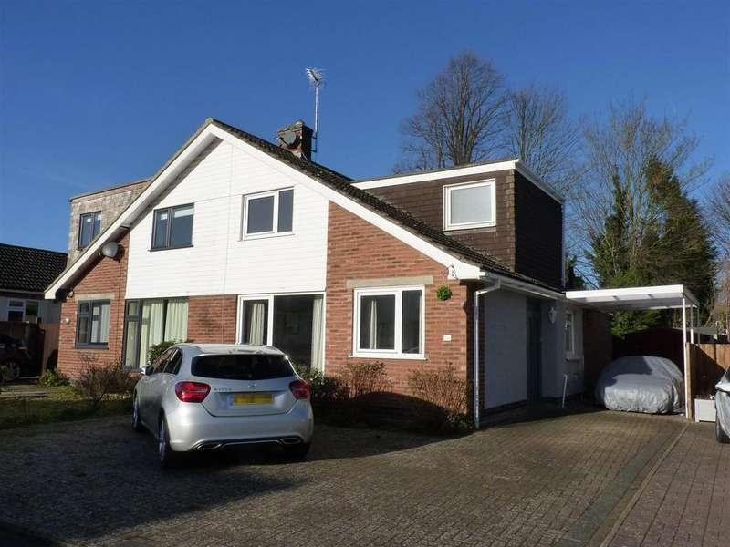 3 Bedrooms Semi Detached House for sale in Horsefair Close, Market Harborough