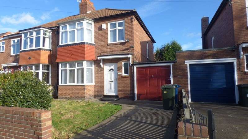 3 Bedrooms Property for sale in Northfield Road, Gosforth, Newcastle upon Tyne, Tyne and Wear, NE3 3UN