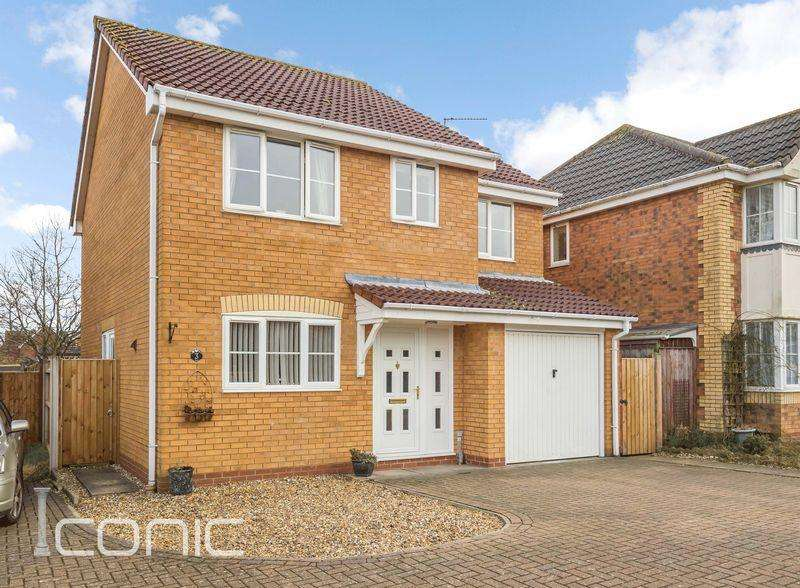 4 Bedrooms Detached House for sale in Shillgate Way, Taverham, Norwich