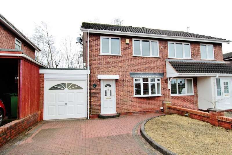 3 Bedrooms Semi Detached House for sale in Angelica, Amington, B77 3JY