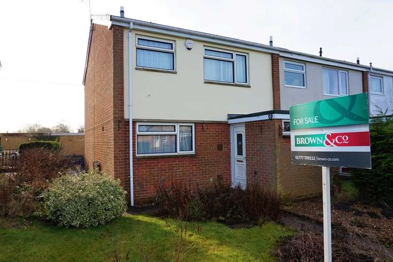 3 Bedrooms End Of Terrace House for sale in Smeath Lane, Retford