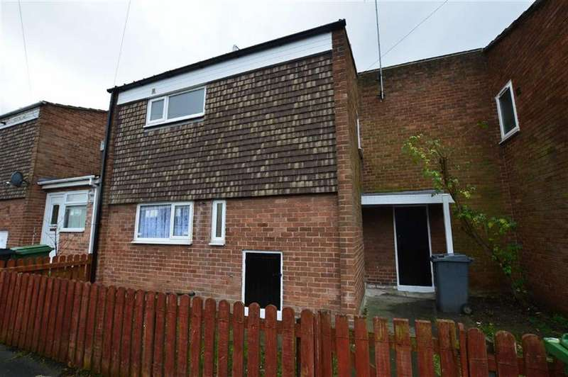 3 Bedrooms Terraced House for sale in Deeside Close, Off Fourth Avenue, Beechwood, CH43