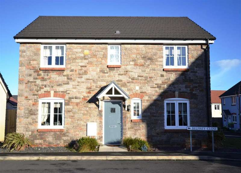 4 Bedrooms Detached House for sale in Hubberston, Milford Haven