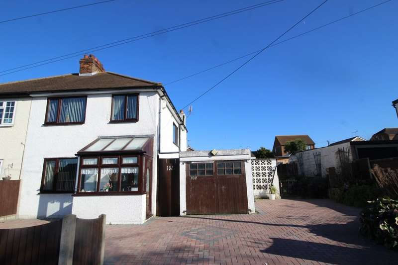 3 Bedrooms Semi Detached House for sale in The Broadway, Minster on Sea, SHEERNESS, ME12