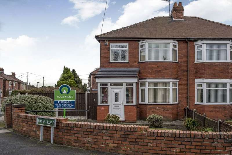 3 Bedrooms Semi Detached House for sale in Bryer Road, Prescot, L35
