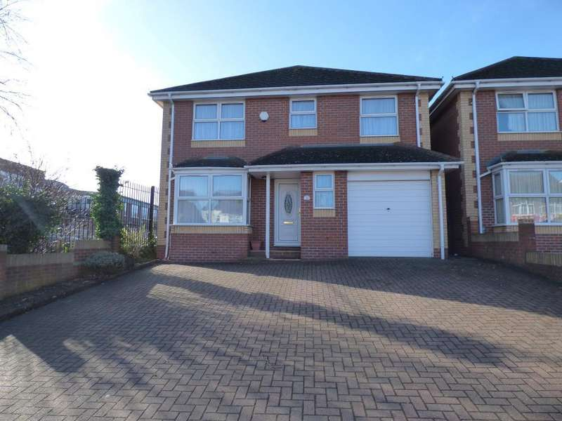 4 Bedrooms Detached House for rent in Oakley Road, Luton, Bedfordshire, LU4 9QD