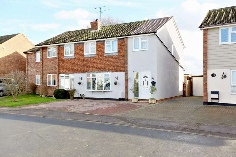3 Bedrooms Semi Detached House for sale in The Westerings, Cressing, CM77 8HQ