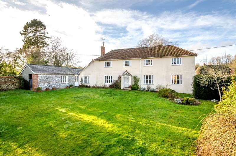 4 Bedrooms Detached House for sale in Stockton, Warminster, Wiltshire, BA12