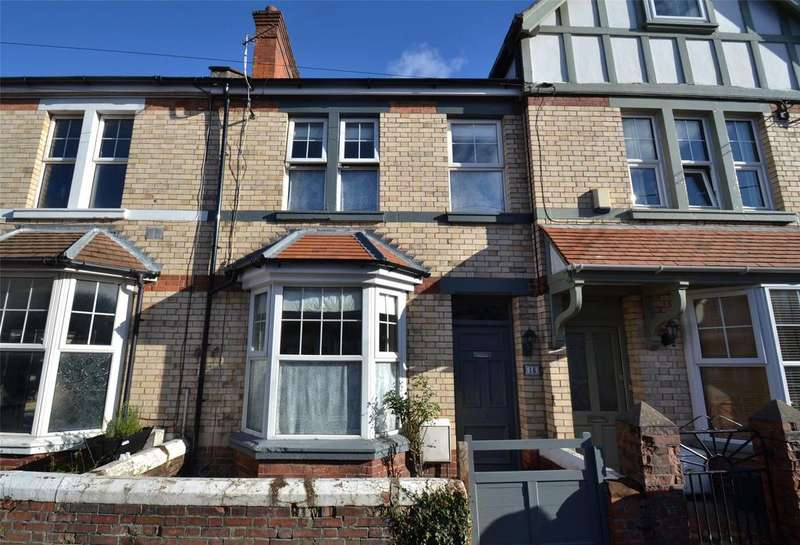 3 Bedrooms Terraced House for sale in King Edward Street, Barnstaple