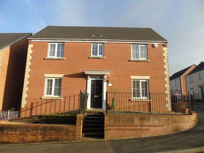 4 Bedrooms Detached House for sale in Clos Y Fendrod, Llansamlet, Swansea