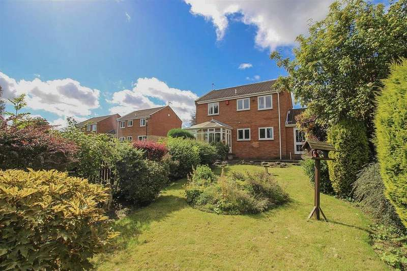 4 Bedrooms Detached House for sale in Whitebridge Close, Newcastle Upon Tyne