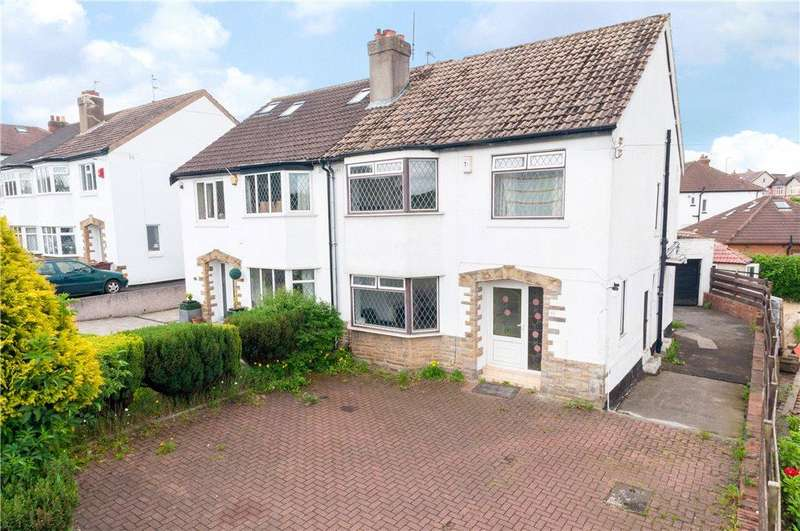 3 Bedrooms Semi Detached House for sale in Ring Road, West Park, Leeds, West Yorkshire