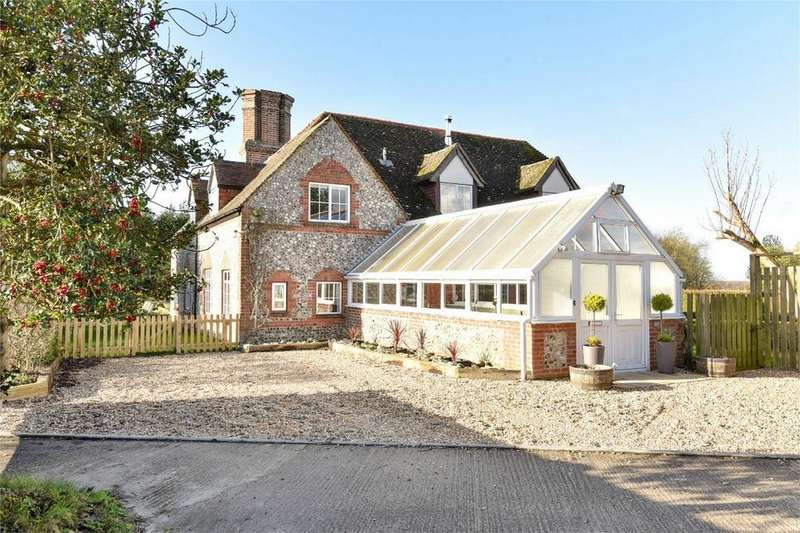 4 Bedrooms Detached House for sale in Northington Down, Alresford, Hampshire
