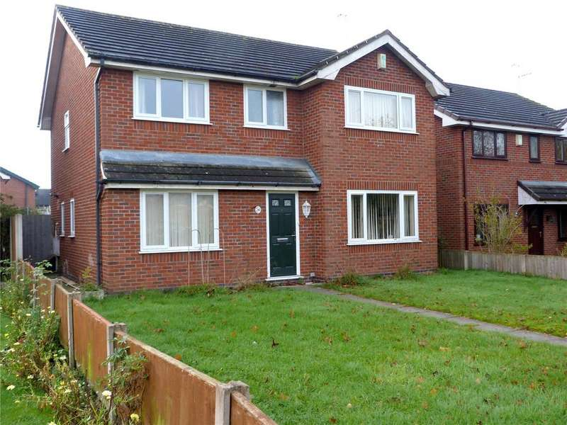 4 Bedrooms Detached House for sale in Danebank Avenue, Crewe, Cheshire, CW2