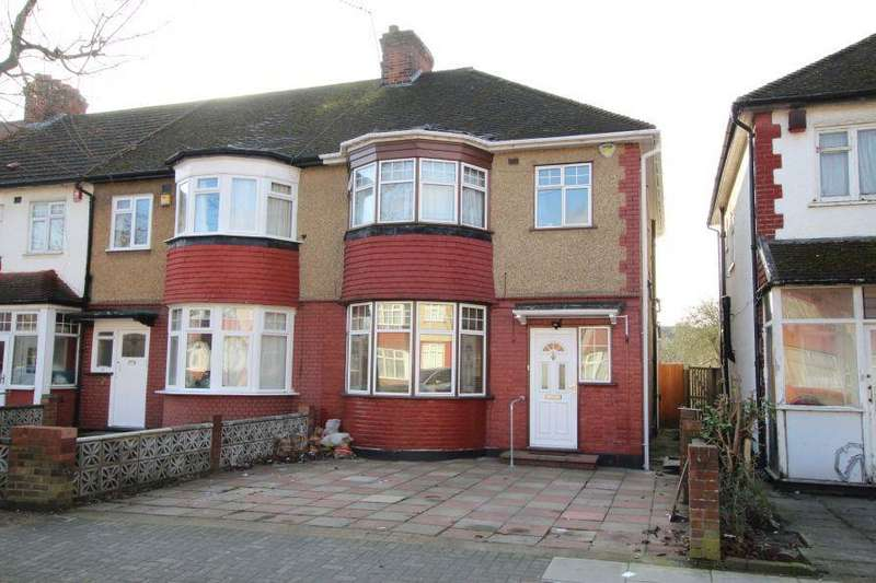 3 Bedrooms End Of Terrace House for sale in Grasmere Avenue, Preston Road Area HA9 8TF