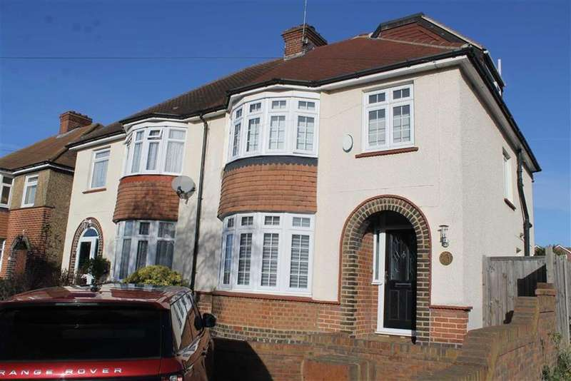 4 Bedrooms Semi Detached House for sale in Dennis Road, Gravesend