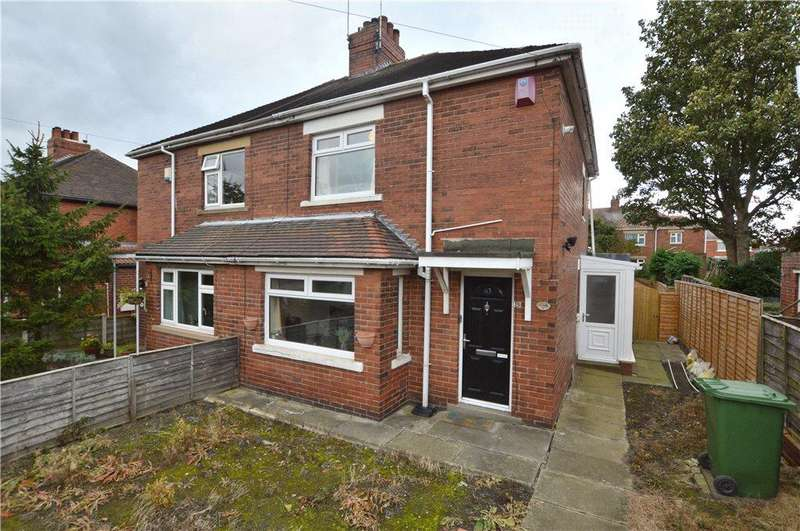 2 Bedrooms Semi Detached House for sale in Bevin Crescent, Wakefield, West Yorkshire
