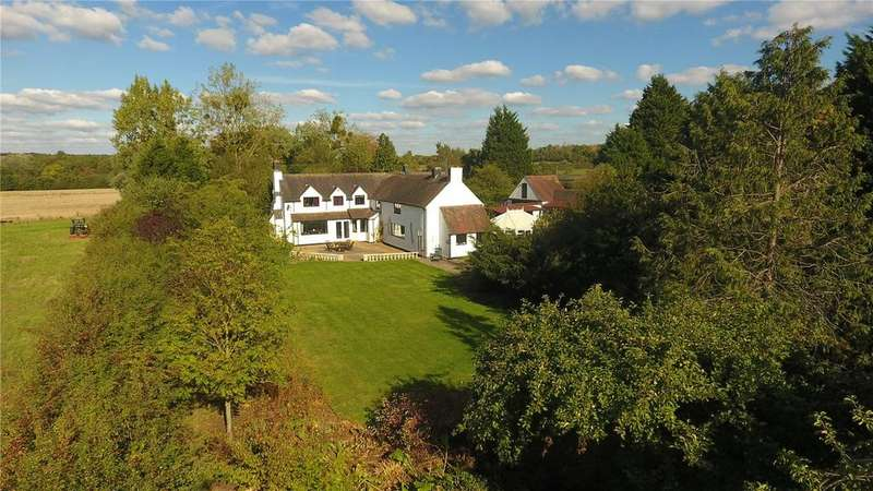 6 Bedrooms Detached House for sale in Lower Haselor, Pershore, Worcestershire