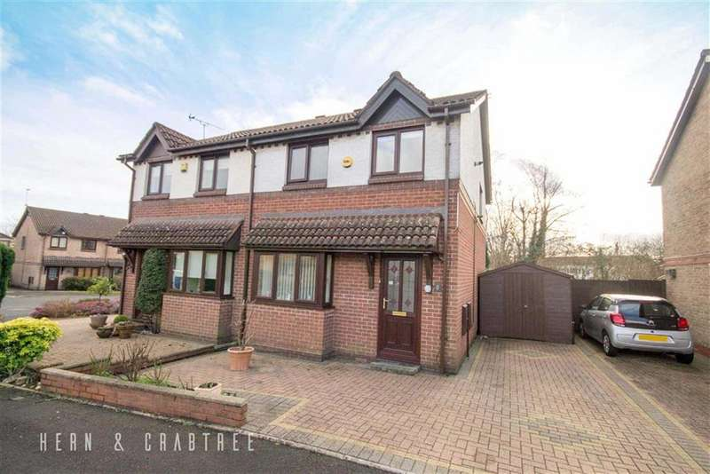 3 Bedrooms Semi Detached House for sale in Woodford Close, Radyr Way, Cardiff