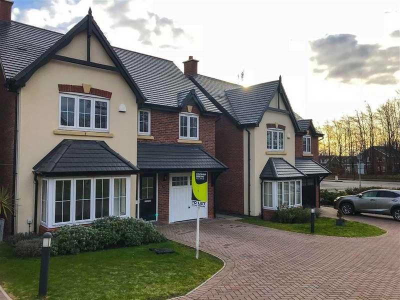 4 Bedrooms Detached House for rent in Ingleby Way, The Mount, Shrewsbury