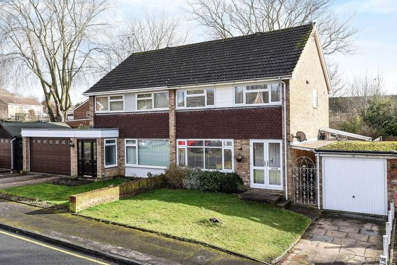 3 Bedrooms Semi Detached House for sale in Vinters Park, Maidstone