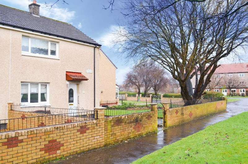 2 Bedrooms Semi Detached House for sale in Mallaig Place, Drumoyne, Glasgow, G51 4NL