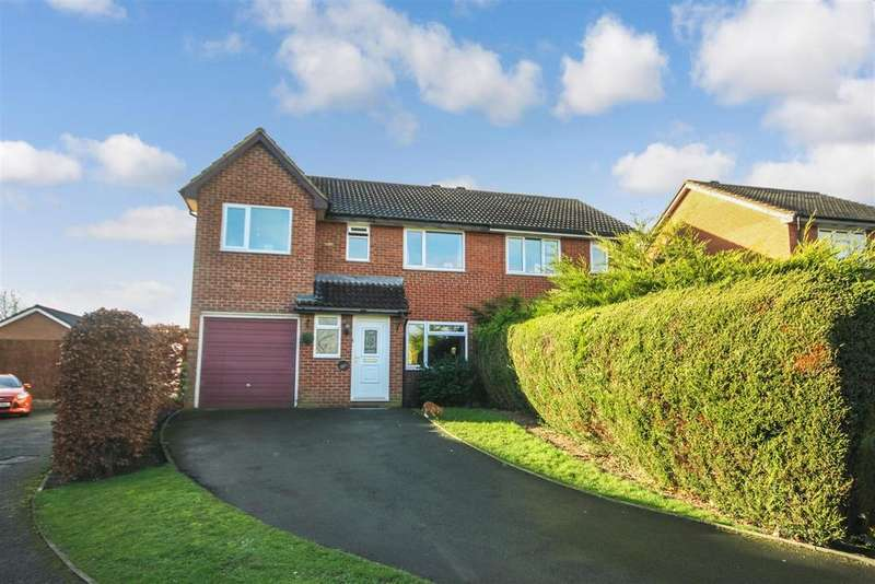 4 Bedrooms Semi Detached House for sale in Summerfield Close, Oswestry