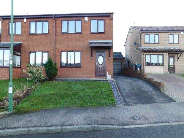 3 Bedrooms Semi Detached House for sale in LILAC WAY, TOFT HILL, BISHOP AUCKLAND