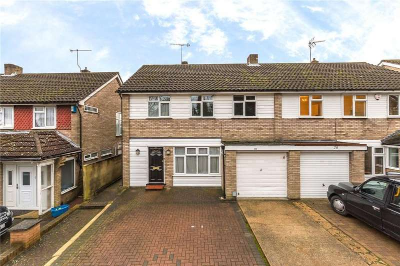 4 Bedrooms Semi Detached House for sale in Little Bushey Lane, Bushey, Hertfordshire