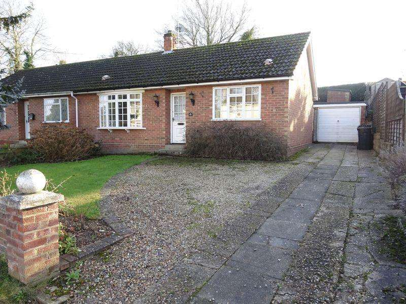 2 Bedrooms Semi Detached Bungalow for sale in West End, Old Costessey, Norwich
