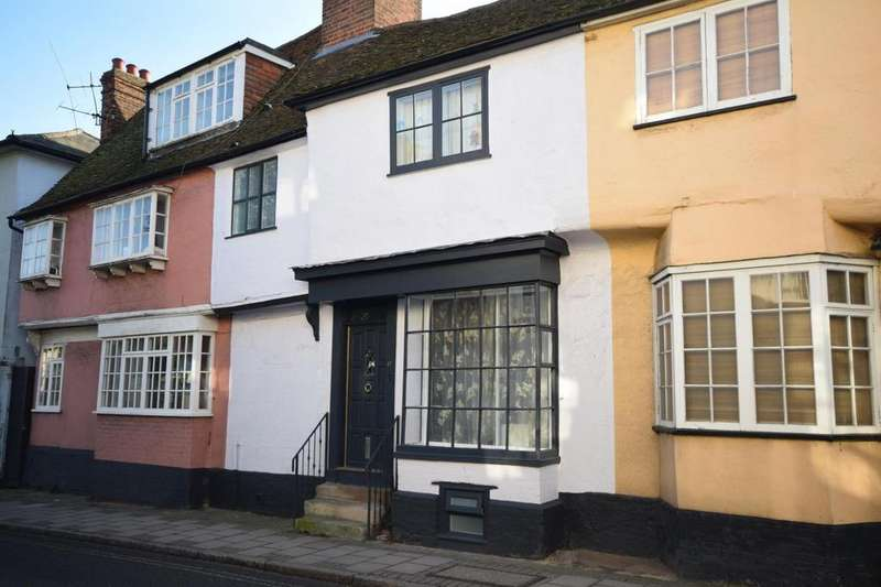 3 Bedrooms Terraced House for sale in Stortford Road, Dunmow, Essex, CM6