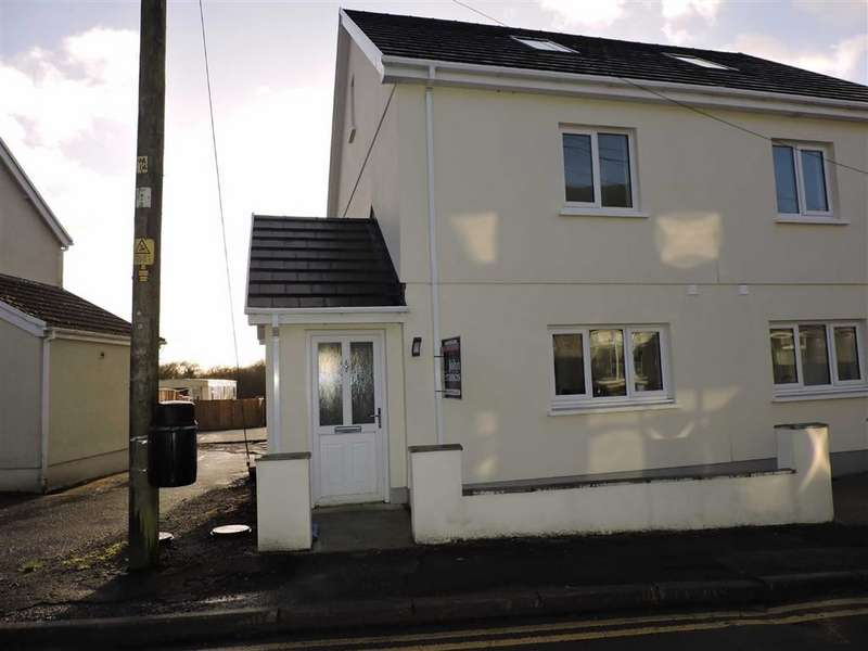 4 Bedrooms Semi Detached House for sale in Heol Y Pentre, Ponthenry