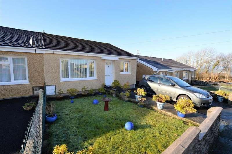 2 Bedrooms Semi Detached Bungalow for sale in Trilwm, Trimsaran
