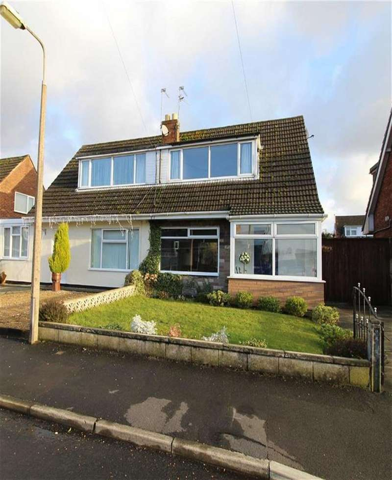 2 Bedrooms Semi Detached House for sale in Windermere Drive, Rainford Junction, St Helens, WA11