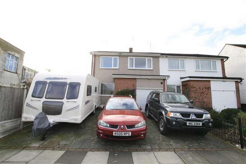 3 Bedrooms Semi Detached House for sale in Rayleigh Drive, Leigh-On-Sea, Essex