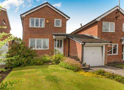 3 Bedrooms Detached House for sale in Falcon Close, Blackburn, Lancashire, BB1