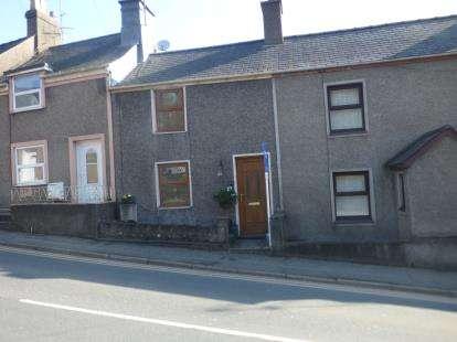 2 Bedrooms Terraced House for sale in Caernarvon Road, Pwllheli, Gwynedd, LL53