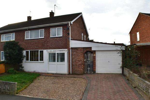 3 Bedrooms Semi Detached House for sale in Langton Road, Little Hill,Wigston, Leicester, LE18