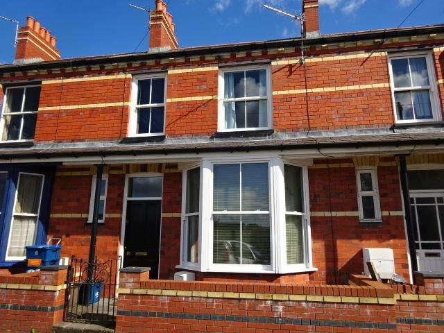 3 Bedrooms Terraced House for sale in GLADSTONE TERRACE, BANGOR LL57
