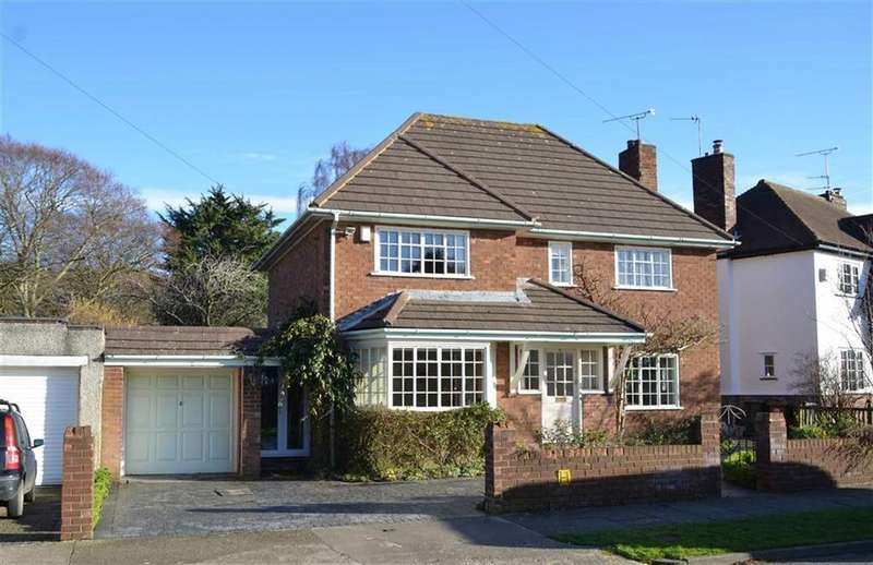4 Bedrooms Detached House for sale in Hillcrest Road, Little Sutton, CH66