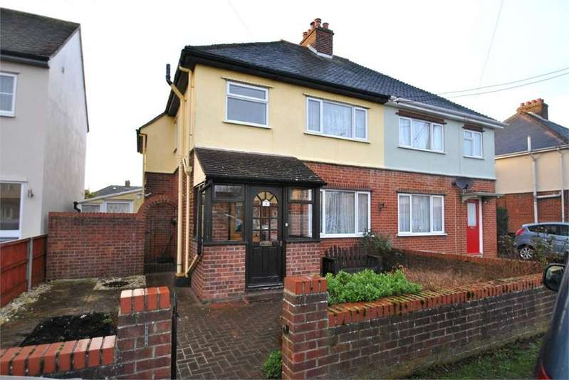 3 Bedrooms Semi Detached House for sale in Aetheric Road, BRAINTREE, Essex