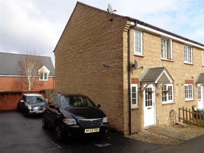 2 Bedrooms Semi Detached House for rent in Exeter