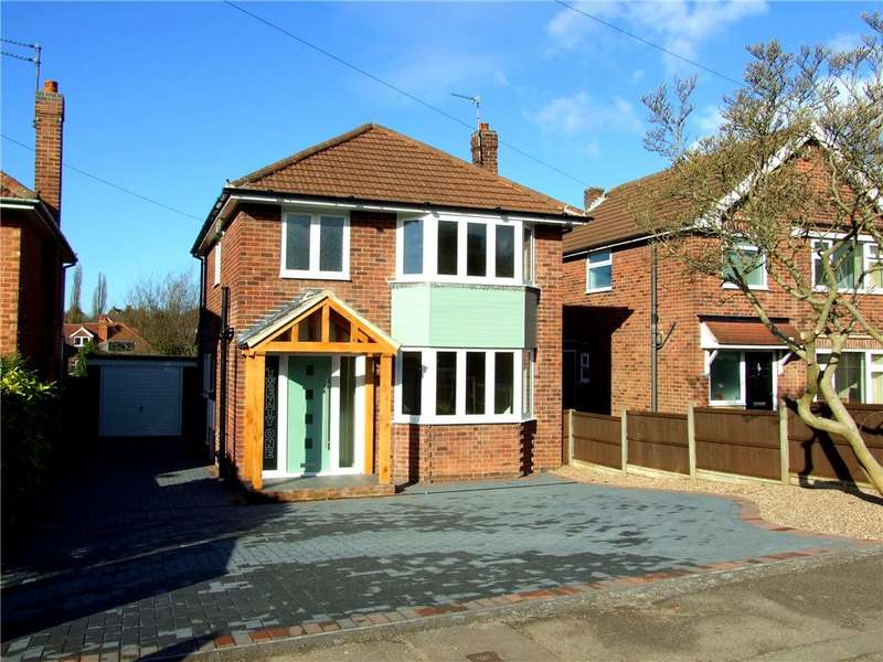 3 Bedrooms Detached House for sale in Ashover Road, Allestree, Derby, Derbyshire, DE22