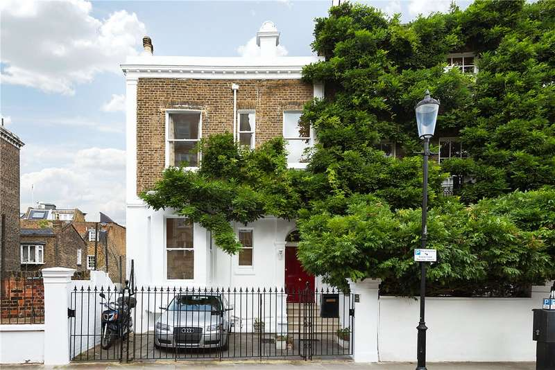 5 Bedrooms End Of Terrace House for sale in Bedford Gardens, Kensington, London, W8