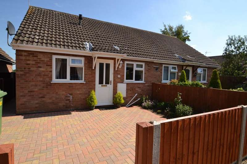 2 Bedrooms Semi Detached Bungalow for sale in Edgefield Close, Old Catton