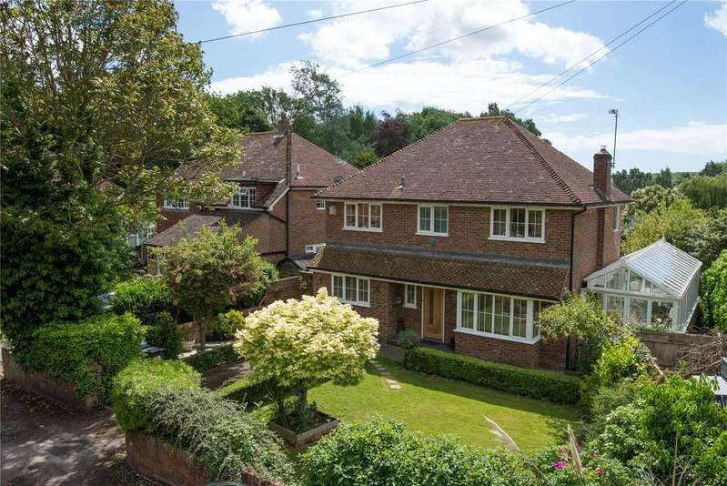 4 Bedrooms Detached House for sale in Westbere Lane, Westbere, Canterbury, Kent