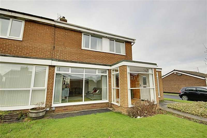 3 Bedrooms Semi Detached House for sale in Lichfield Way, Fellgate Estate, Tyne And Wear